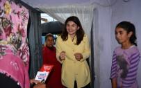 ALTıNBAŞAK - Milletvekili Adayı Çığlık, İlçelerde Ev Ev Dolaşıyor