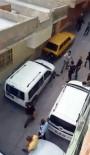 SİLAHLI KAVGA - Polisin Tüfekle Vurularak Yaralandığı Kavga Kamerada