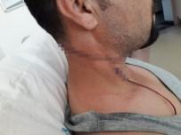 ÖRENCIK - Sağlık Memuru Mesai Arkadaşını Falçatayla Yaraladı