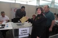 HAMZABEYLI - Sınır Kapılarında Oy Verme İşlemi Başladı