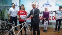 Surlu Öğrenciler Bisikletlerine Kavuştu