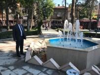 Taşköprü Cumhuriyet Parkı'nda Tarihi Dokuya Yakışan Düzenleme Devam Ediyor