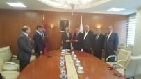 KAYSERİ ŞEKER FABRİKASI - Turhal Şeker Fabrikasının Kayseri Şeker'e Teslimi Özelleştirme İdaresinde Yapıldı