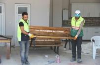 ÇÖP KUTUSU - Van Büyükşehir Belediyesinden Kent Mobilyaları Üretimi