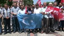 ASIMILASYON - Edirne'de 'Doğu Türkistan' Protestosu