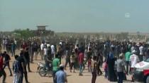 SAĞLIK GÖREVLİSİ - Gazze Sınırında 'Milyonluk Kudüs' Gösterisi Başladı