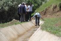 SULAMA KANALI - Güzelkonak Modern Sulama Kanalına Kavuştu