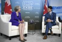THERESA MAY - İngiltere Başbakanı May, Kanada Başbakanı Trudeau İle Görüştü