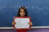 EĞİTİM YILI - Iraklı Fethiye, Türkiye'deki İlk Karne Sevincini Yaşadı