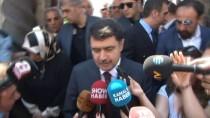 TAZİYE ZİYARETİ - İstanbul Valisi Vasip Şahin Ve AB Eski Bakanı Egemen Bağış'tan Demirören Ailesine Taziye Ziyareti