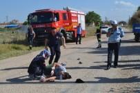 Karaman'da Traktörden Düşen Anne Ve 2 Çocuğunun Üzerinden Teker Geçti