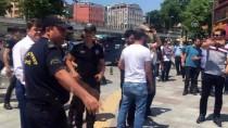 İZİNSİZ GÖSTERİ - Kartal'da İzinsiz Gösteriye Polis Müdahalesi