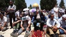 KONTROL NOKTASI - Mescid-İ Aksa'da Ramazan Ayının Son Cuması
