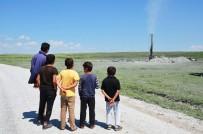 PATLAMA SESİ - Sondaj Kuyusundan Gaz Çıktı