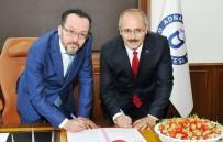 TURGAY HAKAN BİLGİN - Sultanhisar Çileğinin Markalaşması İçin İmzalar Atıldı