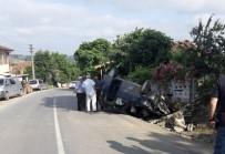 Sürücüsünün Kontrolünden Çıkan Otomobil Takla Attı Açıklaması 2 Yaralı
