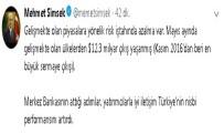 MEHMET ŞİMŞEK - 'TCMB'nin Attığı Adımlar Türkiye'nin Nisbi Performansını Artırdı'