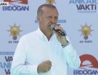 19 MAYıS STADı - Cumhurbaşkanı Erdoğan'dan Ankara'ya büyük müjde