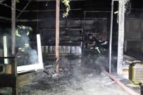 BUZDOLABı - Aydın'da Şüpheli Yangın