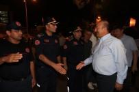 ANTALYA BELEDİYESİ - Bakan Çavuşoğlu Ve Başkan Türel İtfaiye Erleri İle Birlikte Sahur Yaptı