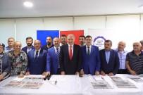 BAŞKANLIK SİSTEMİ - Başkan Uysal, Ümraniye'de Esnafla Buluştu