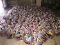 Bismilli İş Adamından 200 Aileye Ramazan Yardımı