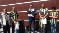 CENTİLMENLİK - Bitlis'te FB'li Taraftarlardan Başkan Ali Koç'a Kurbanlı Destek