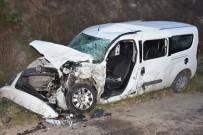 İftara Yetişmek İsterken Kaza Yaptılar Açıklaması 6 Yaralı