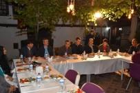 KEMAL ÇEBER - Kent Protokolü, Emniyet Güçleri İle Sahurda Bir Araya Geldi