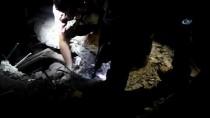 SİVİL SAVUNMA - Rus Uçakları İdlib'i Bombaladı Açıklaması Ölü Sayısı 50'Ye Yükseldi
