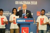 BAŞÖRTÜSÜ - Saadet Partisi Lideri Karamollaoğlu Gaziantep'te 'E-Miting' Yaptı