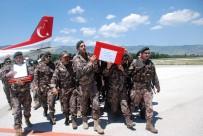 ÖZEL HAREKAT POLİSLERİ - Şehit Özel Harekat Polisinin Naaşı Memleketi Tokat'a Getirildi