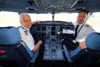 HAVA HARP OKULU - 45 Yıllık Uçuş Kariyerini Pilot Oğluyla Noktaladı