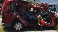 MERCEDES - Bulgaristan'da Türk Aile Kaza Yaptı Açıklaması 4 Ölü