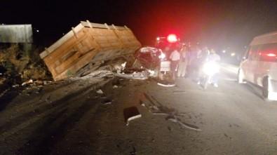 Elazığ'da Trafik Kazası Açıklaması 1 Ölü