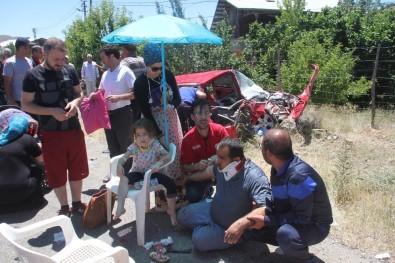 Elazığ'da Trafik Kazası Açıklaması 9 Yaralı