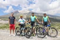 ERCIYES - Erciyes Yabancı Bisikletçilerin Gözdesi Oldu