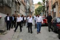 SEL BASKINLARI - Eyüpsultan Caddeleri Yenilenerek Prestij Kazanıyor