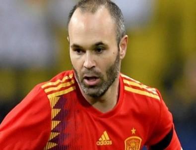 İspanyol yıldız milli takımı bıraktı