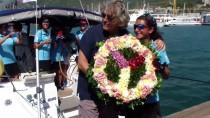 GIRNE - Kadın Yelkenciler Barış Seyrini Tamamladı