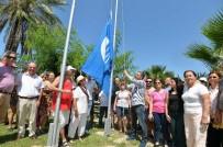 KAMUSAL ALAN - Muratpaşa'da Dört Plajda Mavi Bayrak Töreni