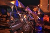 Nöbetten Dönen Güvenlik Görevlileri Kaza Yaptı Açıklaması 1 Ölü, 1 Yaralı