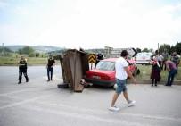 Otomobil İle Traktör Çarpıştı Açıklaması 7 Yaralı
