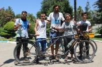 MARMARA BÖLGESI - Bisiklet Gezginleri Engelli Bireyler İçin Pedal Çeviriyor