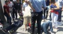 OKMEYDANı - (Özel) Ortaköy'de Feci Kaza Açıklaması 3 Yaralı