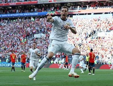 Rusya çeyrek finalde