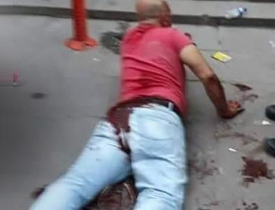 Ankara Demetevler'de dehşet görüntüler! Kızını taciz ettiği iddia edilen adamı sokak ortasında hadım etti