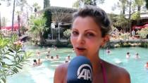 KARAHAYıT - Antik Havuzda Kaplıca Keyfi