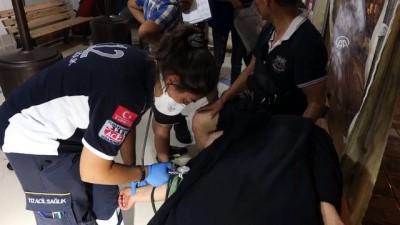 Botları Su Alan Kaçak Göçmenleri Sahil Güvenlik Kurtardı