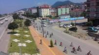 CUMHURİYET MEYDANI - Bulancak'ta 15 Temmuz Şehitleri İçin Bisiklet Turu Yapıldı